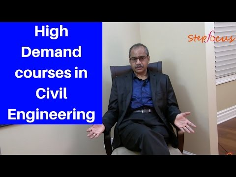 What kind of courses are in high demand in civil engineering field? NIT Warangal | Step focus |