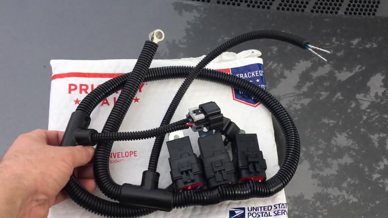 nelson performance 2006 silverado 2500hd electric fan harness ls1 electric fan wiring harness [ 1280 x 720 Pixel ]