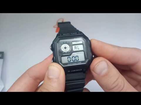 Новинка 2018 Часы Skmei 1299 обзор настройка, инструкция на русском, отзывы. Watch Skmei 1299 Review