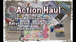 Action Haul (deutsch) Bastelsachen, Baby, neue Stanzen, Scrapbook basteln mit Papier, DIY