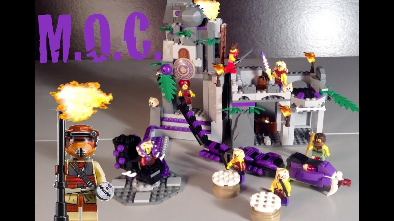 Lego Temple Ninjago Moc Chen's Temple Chen's Ninjago Lego TlFJK31c