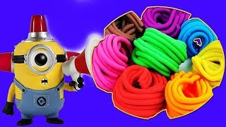 MINION Play Doh STOP MOTION Animation