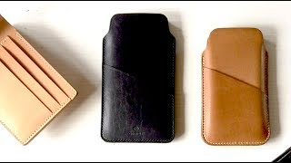How to Clean and Condition a Leather Wallet - Step by Step for a Full Grain Leather Wallet