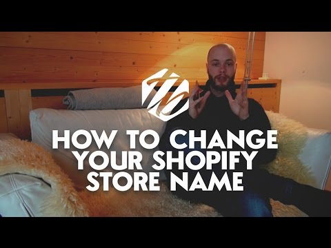 shopify how to change domain