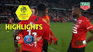 Stade Rennais FC - Paris Saint-Germain ( 2-1 ) - Highlights - (SRFC - PARIS) / 2019-20