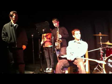 The Marin School Jazz Band - January 12, 2012 - Blues for Alice & Recordame