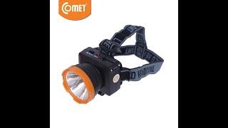 Đèn Pin Sạc Led Đội Đầu Comet CRT1612 3W siêu sáng