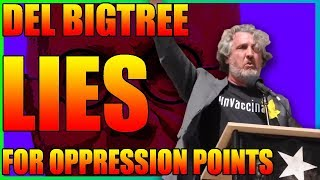 Antivaxxer Del Bigtree Lying For Oppression Points