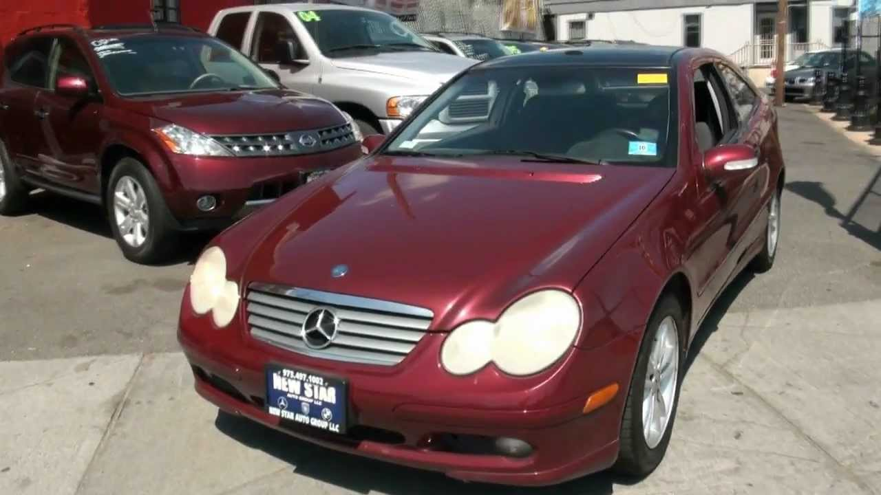 2003 mercedes benz c230 kompressor coupe youtube. Black Bedroom Furniture Sets. Home Design Ideas