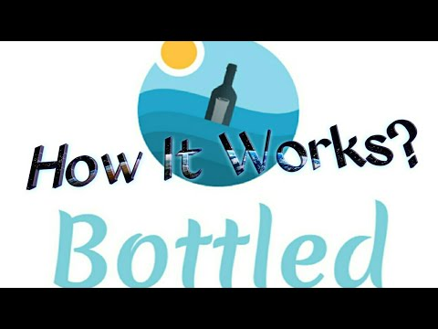 Best Stranger Chat App!  Bottled App Review