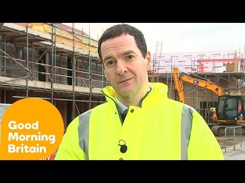 George Osborne Defends Tax Credits U-Turn | Good Morning Britain