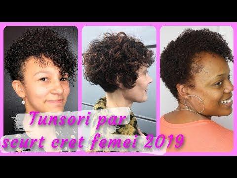 20 Modele Tunsori Par Scurt Cret Femei 2019