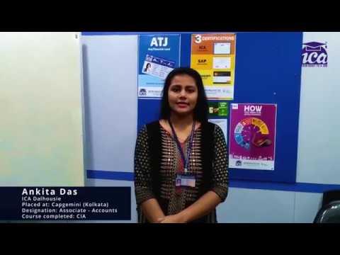 ICA Dalhousie Student Placement In Capgemini - Ankita Das