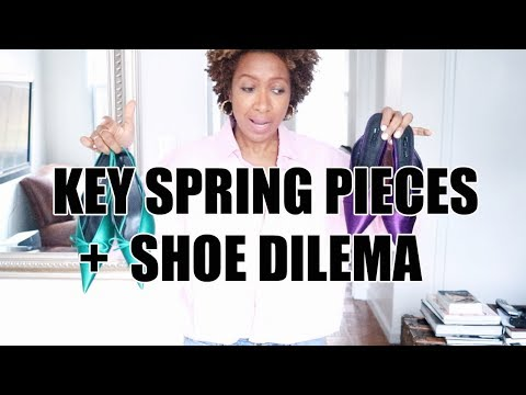 WHAT TO BUY FOR SPRING 2018 |  SHOES, DRESSES, BAGS!!