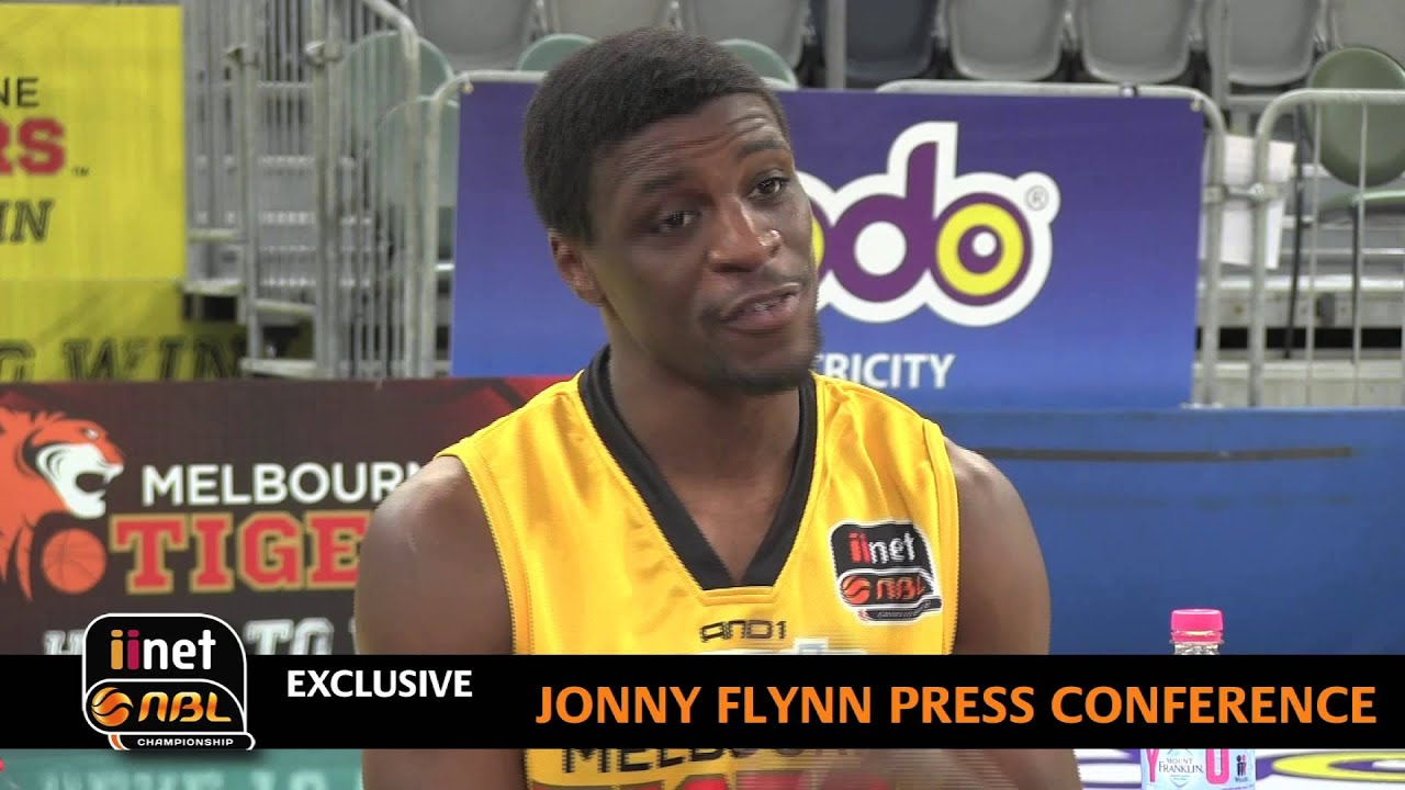 Jonny Flynn Introduces Himself To The Nbl