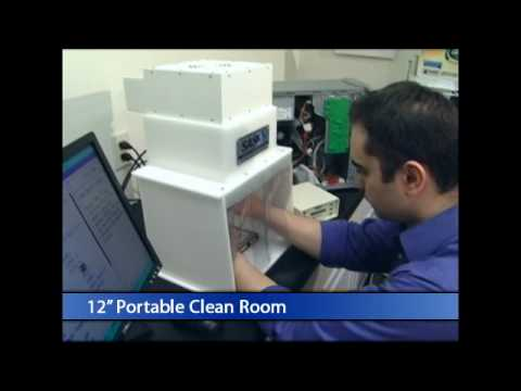 Data Recovery Hoods Portable Clean Rooms Youtube