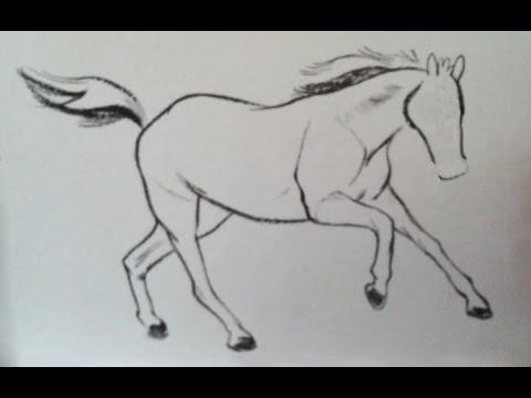 Как нарисовать лошадь с узорами