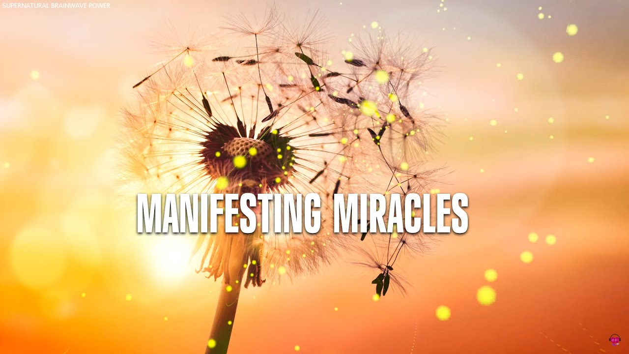 432 Hz Miracle Music By Supernatural !! Album: Manifesting Miracles !! Powerful Miracle Tone