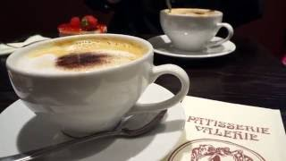 [VLOG] Trip to Patisserie Valerie in Debenhams, Oxford Circus, London