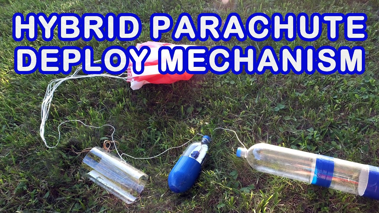 how to make bottle rocket with parachute