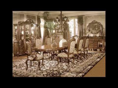 Classic dining room design