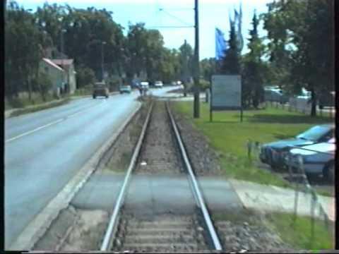 Straßenbahn Dresden 2001 linia 4 cz.II