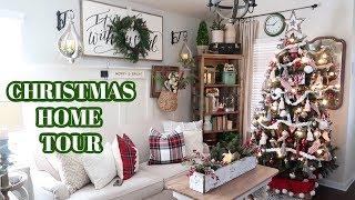 STUNNING CHRISTMAS HOME TOUR | MY MOM'S CHRISTMAS DECOR HOME TOUR!