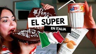 Probando COMIDA ITALIANA Productos RAROS Y TÍPICOS Pretty And Olé