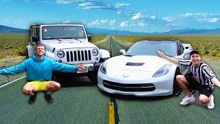 Download RACE ACROSS THE USA vs W2S Mp3 and Videos