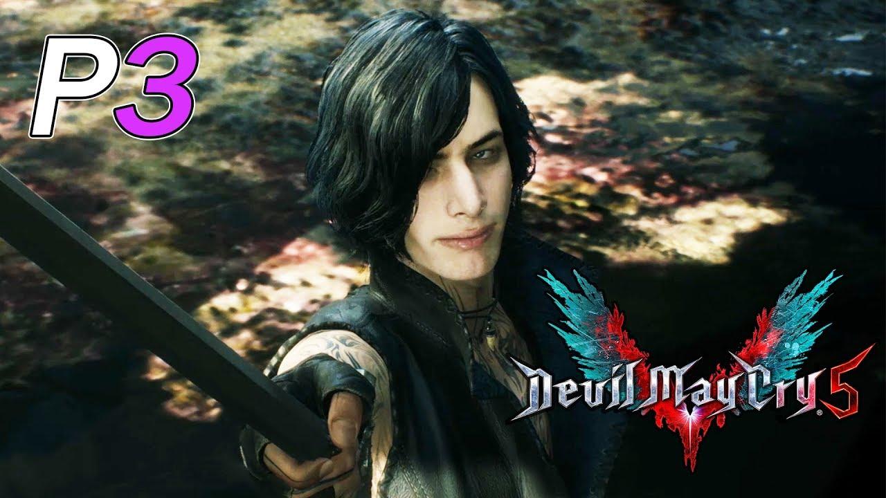 Devil May Cry 5 [ 惡魔獵人5 ] - PART 3 - 新角色V操作厲害! - YouTube