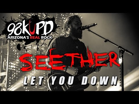 Seether Performing Let You Down Live At 98KUPD
