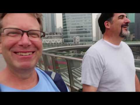 Shanghai Day 8 - early subway to Pudong Financial, dinner on Madang Rd