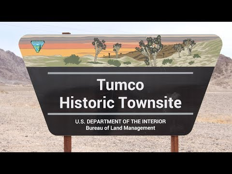 Tumco Historic Townsite - Abandoned Gold Mining Town in California