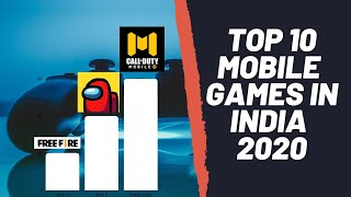 Top 10 Mobile Games In India 2020 || trending mobile games || 2020