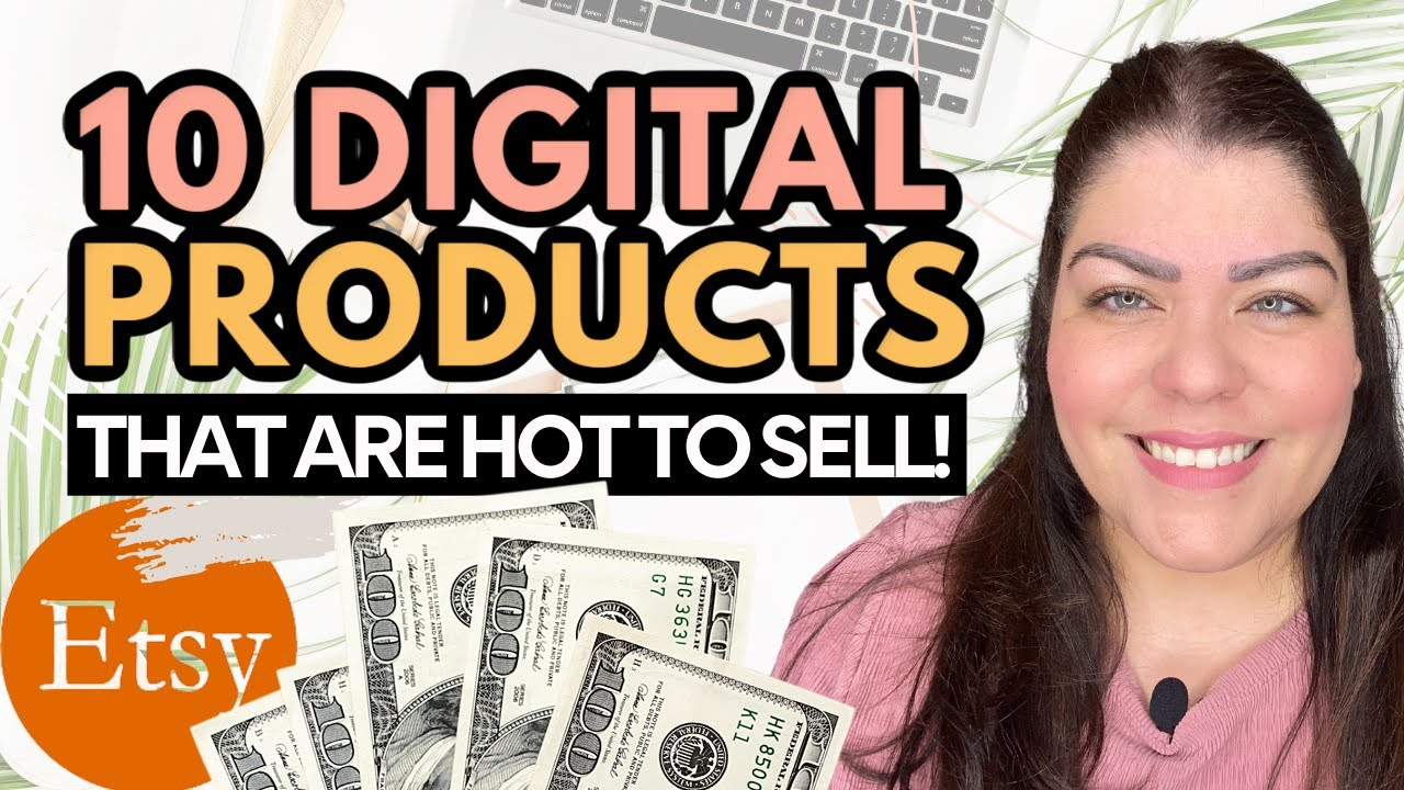10 Digital Products On Etsy That Are Popular To Make Passive Income On Etsy | Sell Digital Products