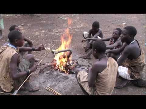 Hunting with the Hadzabe (Bushman) tribe
