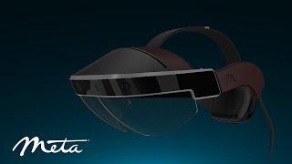 خوذة الواقع المعزز Meta 2 Developer Kit متاحة الآن للطلب المسبق