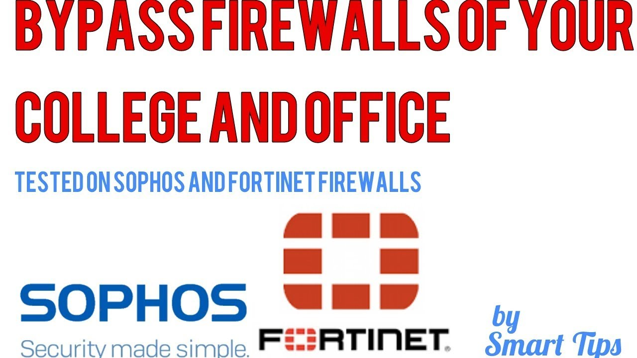 How to bypass firewall on Android of your office and college tested on  Sophos and Fortinet