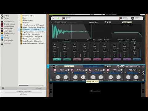 Q-FX Quad Multi Effector - Beats Demo