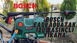 Bosch Easyaquatak 120 Basınçlı Yıkama Makinesi