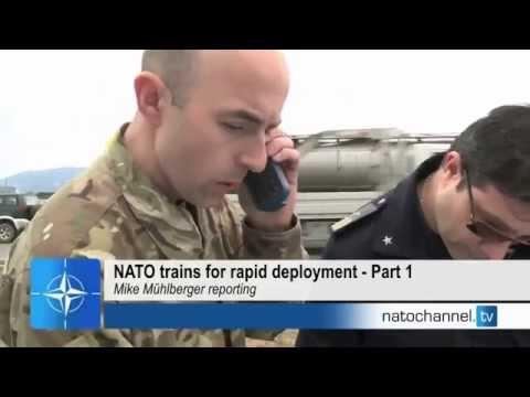 NATO trains for rapid deployment - Part 1