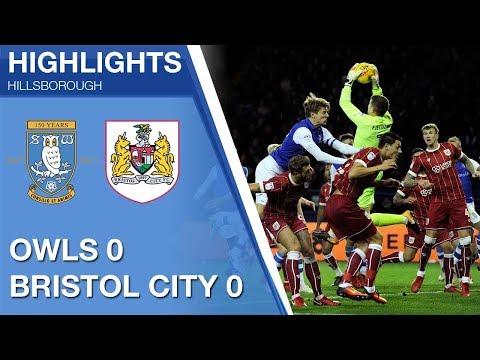Sheffield Wednesday 0 Bristol City 0 | Extended highlights | 2017/18