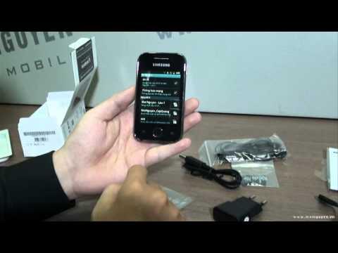 Khui hộp Samsung Galaxy Y (Zing Phone) - www.mainguyen.vn