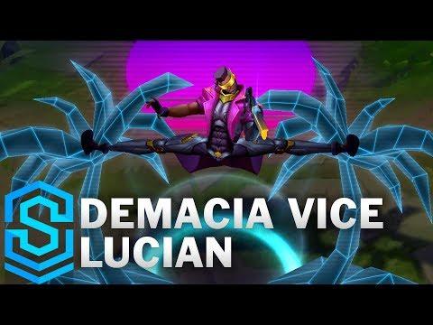 Demacia Vice Lucian Skin Spotlight - League of Legends