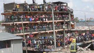 Al menos dos muertos al derrumbarse un edificio de seis plantas enNairobi