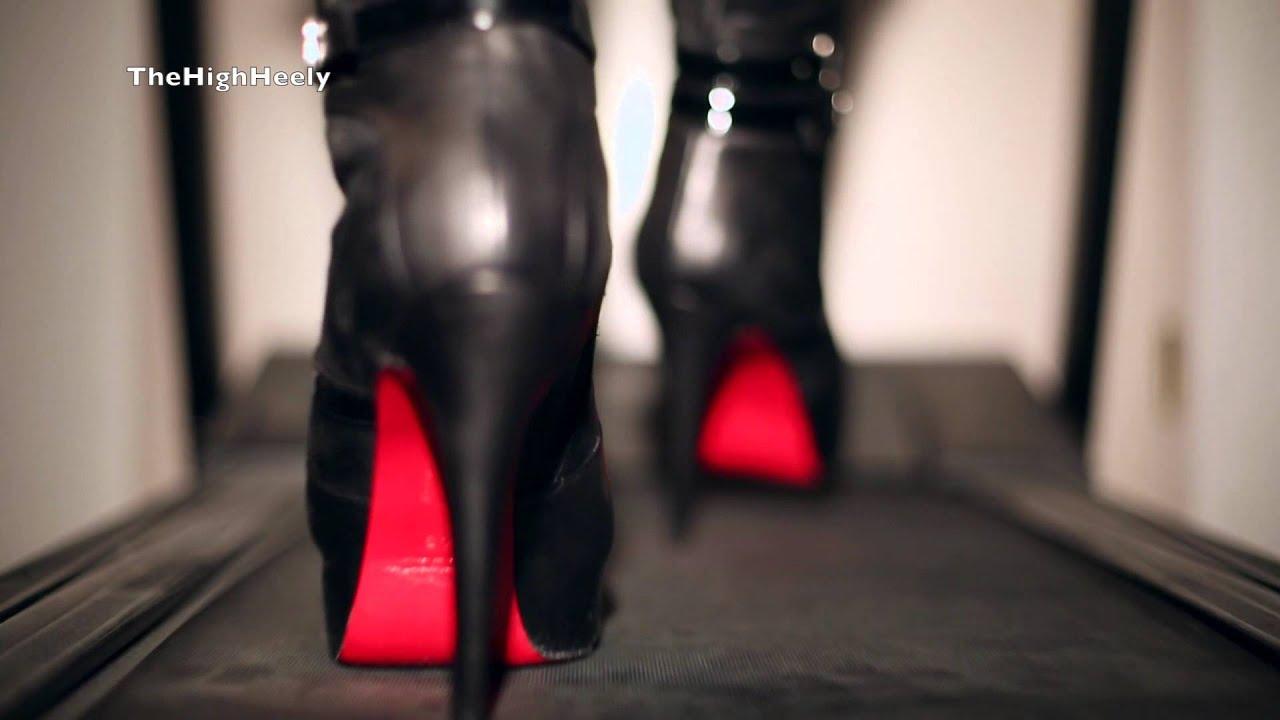 quality design 2c810 c0152 RED SOLE BOOTS - Stiefel mit der roten Sohle - High-Heel Boots