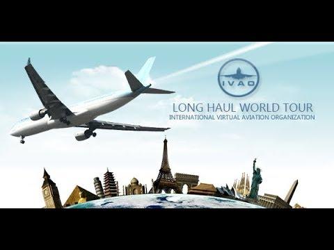 [X-PLANE 11] IVAO Long Haul World Tour 2017  B777-300ER RPLL ✈OEJN   Manila ✈ Gidá (Arábia Saudita)