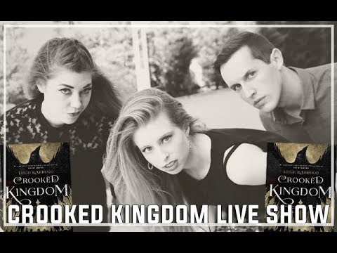 CROOKED KINGDOM LIVE SHOW   BOOKSPLOSION BOOK OF THE MONTH