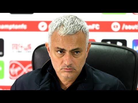 Southampton 2-2 Manchester United - Jose Mourinho Full Post Match Press Conference - Premier League