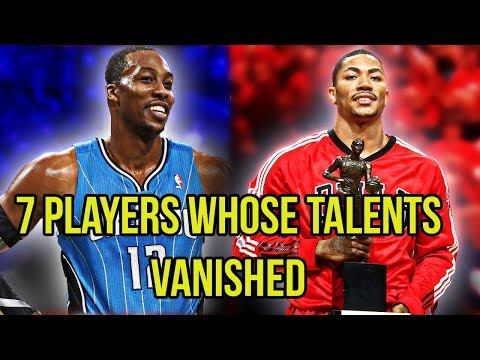 7 NBA Players Whose Talents VANISHED